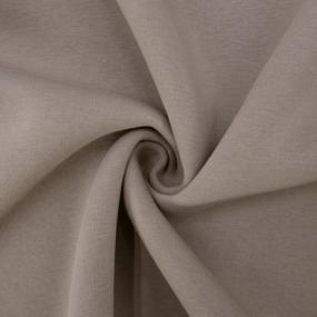 Ткань на отрез футер 3-х нитка компакт пенье начес цвет визон фото