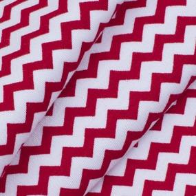 Ткань на отрез интерлок пенье Зигзаг R353 фото