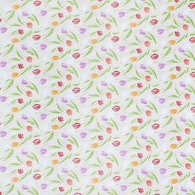 Ткань на отрез бязь плательная 150 см 7515/1 цвет бежевый фото