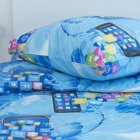 Детское постельное белье 1741 1.5 сп поплин фото