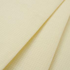 Полотенце вафельное 50/80 см желтое фото