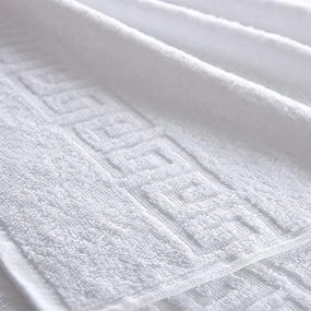 Полотенце махровое 450 гр/м2 Туркменистан 40/70 см белое фото
