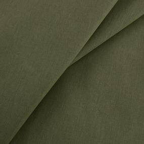 Маломеры бязь гладкокрашеная 120 гр/м2 150 см цвет олива 1 м фото