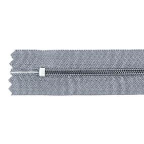 Молния пласт юбочная №3 20 см цвет серый фото