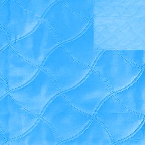 Ультрастеп 220 +/- 10 см цвет голубой-голубой на отрез фото