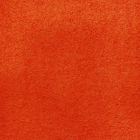 Простынь махровая цвет Оранжевый 190/200 фото