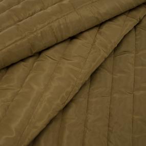 Курточная ткань на отрез цвет коричневый фото