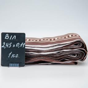 Весовой лоскут Бязь о/м от 0,11 (+/- 2) / 2,45 м в ассортименте по 1 кг фото