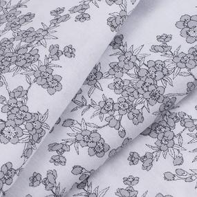 Ткань на отрез перкаль б/з 150 см 13153/1 Сакура цвет темно-серый фото