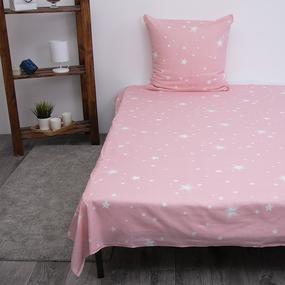 Детское постельное белье из бязи 1.5 сп 204561 Звездное небо 1 сер фото