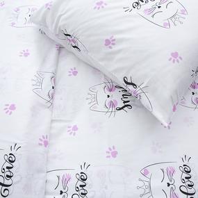 Детское постельное белье из бязи 1.5 сп 204481 Китти 1 черн фото