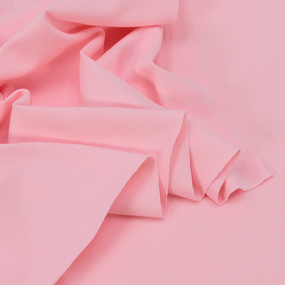 Ткань на отрез кулирка с лайкрой 3317-1 цвет розовый фото