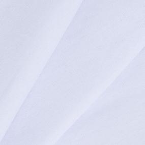 Ткань на отрез кулирка с лайкрой 6162 цвет белый фото