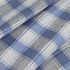 Ткань на отрез полулен полотенечный 50 см 3/55/39 Клетка 113358 фото