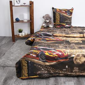 Детское постельное белье из бязи 1.5 сп 192442 Неон 2 кор фото