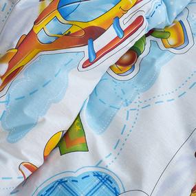 Детское постельное белье из бязи 1.5 сп 200541 От винта с 1-ой нав. 70/70 фото