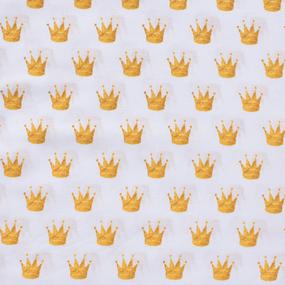 Ткань на отрез перкаль 150 см 13271/1 Crowns (компаньон) фото