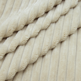 Ткань на отрез велсофт Orrizonte 300 гр/м2 200 см цвет кремовый фото