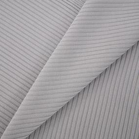 Ткань на отрез трикотаж лапша цвет серый фото