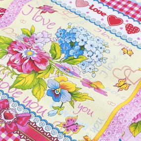 Набор вафельных полотенец 3 шт 45/60 см 11223/1 Аромат фото