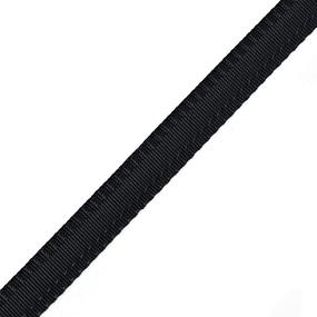Клеевая тесьма брючная 2,4см*108см черная фото