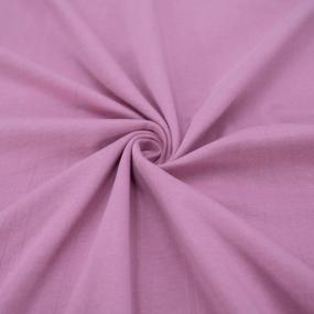 Ткань на отрез кулирка М-2054 цвет лиловый фото