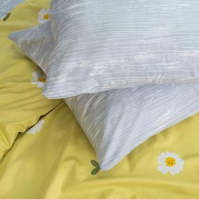 Постельное белье из сатина Е129 1.5 сп с 1 нав 70/70 фото