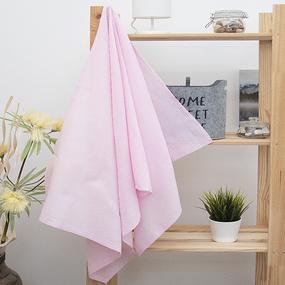 Полотенце вафельное банное 150/75 см цвет роза фото