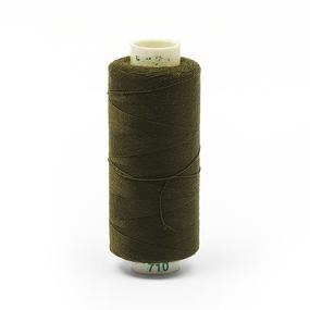 Нитки бытовые Dor Tak 40/2 366м 100% п/э, цв.710 оливковый фото
