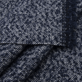 Весовой лоскут №1.20 Драп вар.шерсть сине-белый 0,35+0,6 (3 шт.)+0,55+0,65м х 1,42 (+/-2см)м 2,120кг фото