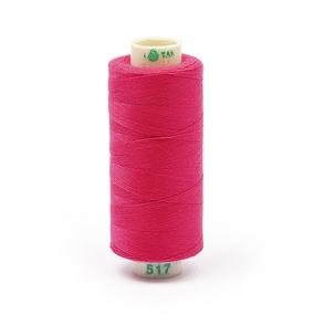 Нитки бытовые Dor Tak 40/2 366м 100% п/э, цв.517 розовый фото