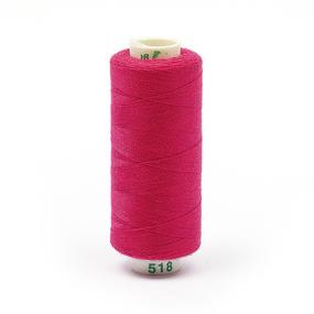 Нитки бытовые Dor Tak 40/2 366м 100% п/э, цв.518 розовый фото