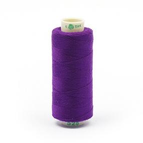 Нитки бытовые Dor Tak 40/2 366м 100% п/э, цв.528 фиолетовый фото