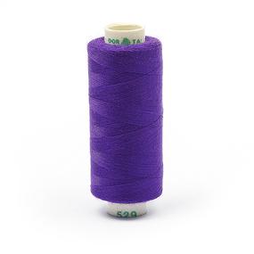 Нитки бытовые Dor Tak 40/2 366м 100% п/э, цв.529 фиолетовый фото
