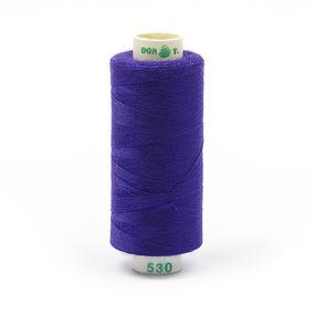 Нитки бытовые Dor Tak 40/2 366м 100% п/э, цв.530 фиолетовый фото