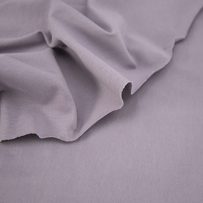 Ткань на отрез кулирка с лайкрой цвет корица фото