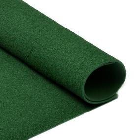 Фоамиран махровый 2 мм арт.MG.TOW.A047 цв.темно-зеленый, 20х30 см фото