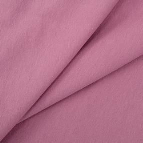 Ткань на отрез петля футер с лайкрой 2021-1 цвет с.роза фото