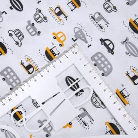 Ткань на отрез интерлок Путешествие-2 2055-21 фото