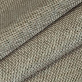 Ткань на отрез Blackout лен крупная рогожка Y391-3 цвет бежевый фото