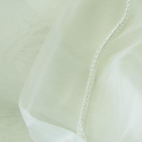 Ткань на отрез Вуаль 295 см с утяжелителем TRL15-3 цвет шампань фото