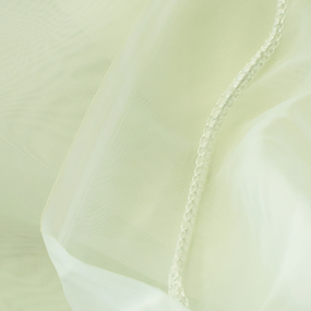 Вуаль 295 см с утяжелителем TRL15-2 цвет молочный фото
