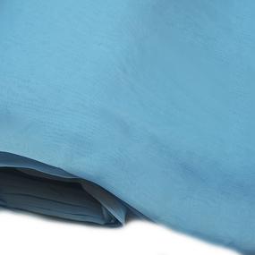 Вуаль 280 см цвет 2 голубой фото
