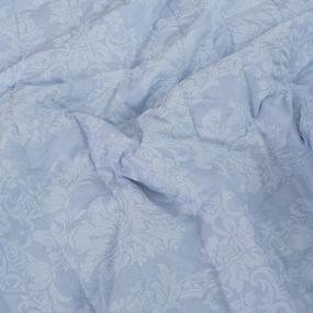 Покрывало стеганое Кварц 10333/8 голубой 150/210 фото