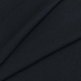 Ткань на отрез кулирка M-2127 цвет черный фото