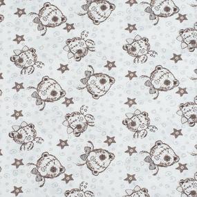 Ткань на отрез кулирка Мишка Тедди 3183-V1 фото