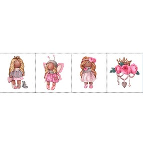 Ткань на отрез перкаль детский 150/37.5 см 03 Миланья фото