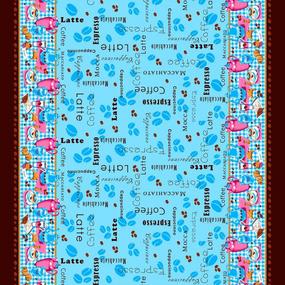 Ткань на отрез рогожка 150 см 4548/3 Кофе фото