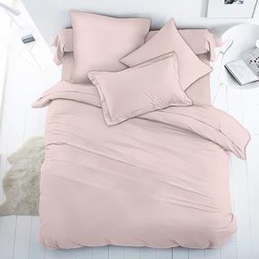 Ткань на отрез перкаль гладкокрашеный 150 см 82345-05 розовый фото