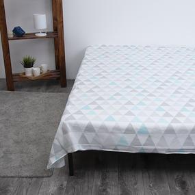 Детское постельное белье из бязи 1.5 сп Лама 3053-1 фото
